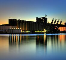 Newcastle Docks by Steve D