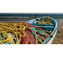 Colourful nets Photographic Print