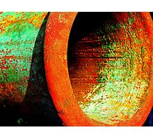 Fight of the rusty colors Photographic Print