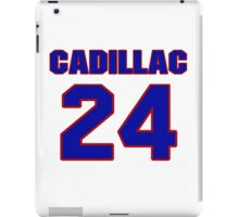 National football player Cadillac Williams jersey 24 iPad Case/Skin