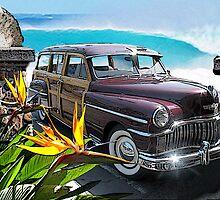 California Fantasy by Larry Butterworth