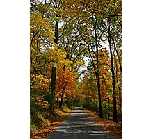 A Perfect Autumn Day Photographic Print