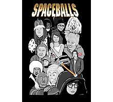 spaceballs character collage Photographic Print