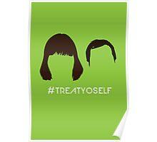 "The Tom & Donna // ""#TREATYOSELF"" Poster"