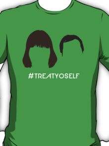 "The Tom & Donna // ""#TREATYOSELF"" T-Shirt"