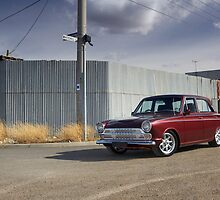 Ford Cortina GT by John Jovic