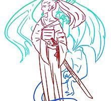 Samurai Dragon Spirit by Prime Mercury