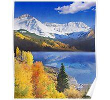 trout lake near telluride colorado Poster