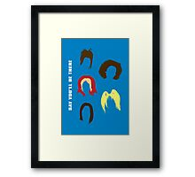 """The Spices // """"Say You'll Be There"""" Framed Print"""