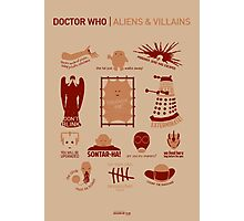 Doctor Who | Aliens & Villains Photographic Print