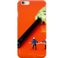 Fire Fighters And Fire Gun iPhone Case/Skin