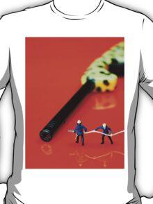 Fire Fighters And Fire Gun T-Shirt