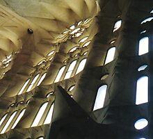 en el Catedral de la Sagrada Familia by jadekrapsen