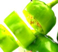 Chopping Green Peppers Sticker