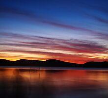 Sunset, Myall Lakes by Wanagi Zable-Andrews