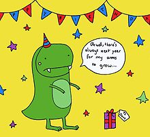 Dinosaur Dave's Birthday by RedPandonite