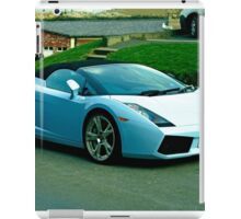 Lamborghini Gallardo, Whitby iPad Case/Skin