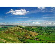 The Great Ridge and the Hope Valley Photographic Print