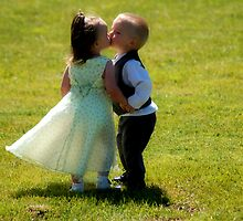 First Kiss by Wieberg Photography