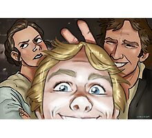 Star Wars selfie series: #1 Photographic Print