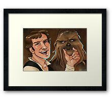 Star Wars selfie series: #2 Framed Print