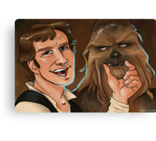 Star Wars selfie series: #2 Canvas Print