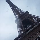 Eiffel Tower in the Rain by CherylBee