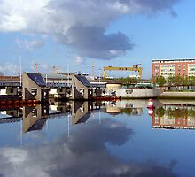Belfast Docks (6) by SNAPPYDAVE