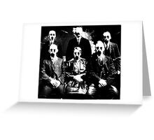 The Haunted Family Greeting Card