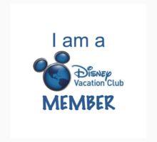 I Am A Disney Vacation Club Member Kids Clothes
