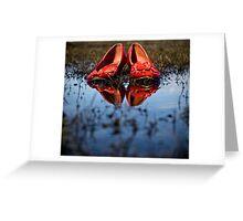 ...somewhere she's running barefoot... Greeting Card