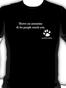 Alpha Dog #12 T-Shirt