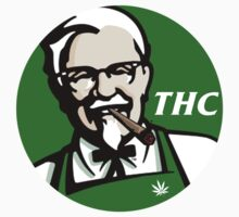 Finger stickin bud (THC) KFC logo Kids Clothes