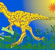 Tyrannosaurus Rex By Day by Margaret Stevens