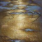moor - acrylic/sand 100 x 77cm by Wheeler