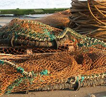 Fishing nets by Jackie Wilson