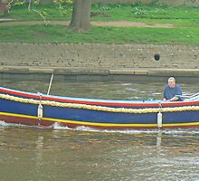 """Hello Sailor!"" - Cruising On York's River Ouse by AARDVARK"