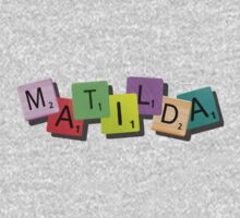 Matilda the Musical {tile logo} Kids Clothes