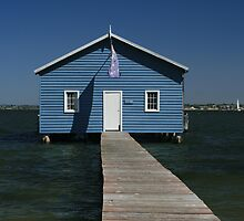 Crawley Edge Boatshed, Perth by Leigh Penfold