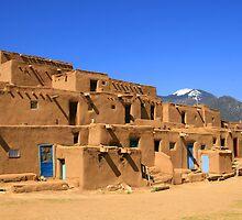Pueblo De Taos by Patricia Montgomery
