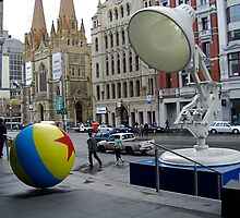Pixar Invasion by Peter Loh