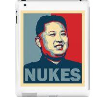 Kim Jong-un NUKES iPad Case/Skin