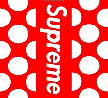 Supreme Polka Dots by weathermanpat