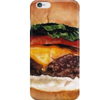 Cheeseburger iPhone Case/Skin