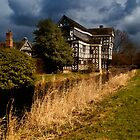 Little Moreton Hall by Alan E Taylor