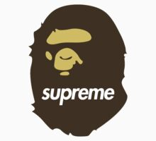 Bape x Supreme by weathermanpat