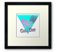 Chill Out Dudes and Dudettes! Framed Print