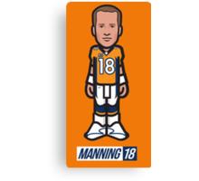 Manning 18 Canvas Print