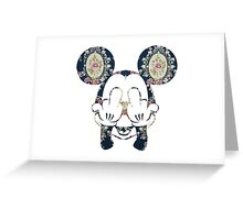 trippy micky Greeting Card