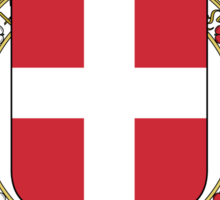 Coat of Arms of the Duchy of Savoy Sticker